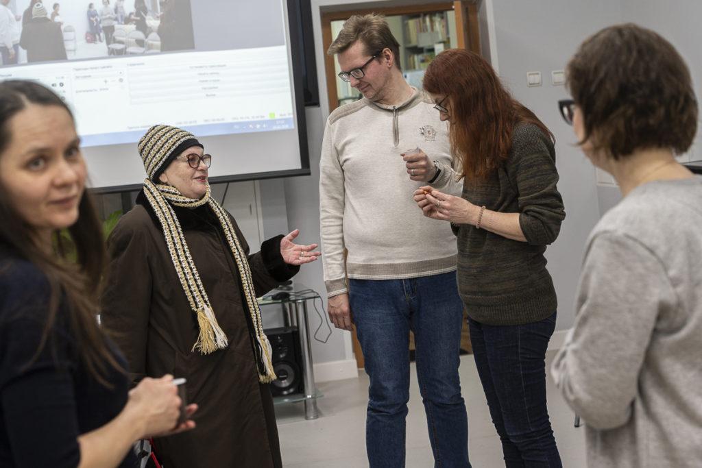 Алексей Копейкин, Ольга Корф, Евгения Басова